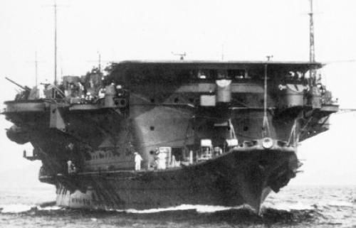Авианосец «Ryujo»