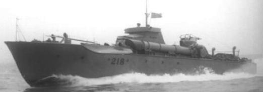 Торпедный катер «MTB-218»
