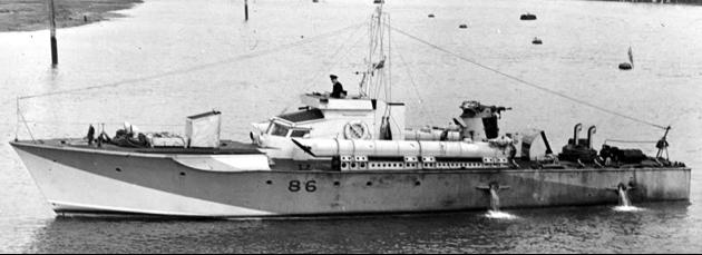 Торпедный катер «МТВ-86»