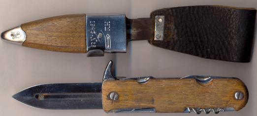 Нож командирский складной обр. 1945 г.