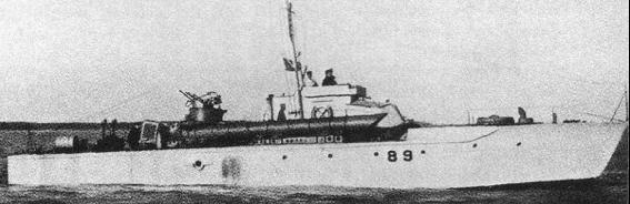 Торпедный катер «МТВ-89»