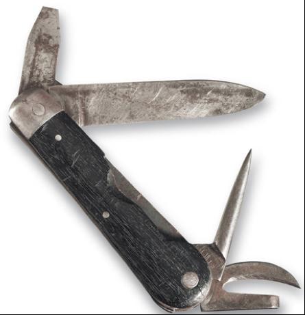 Армейский солдатский нож