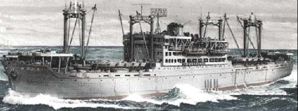 Рисунок десантного корабля «Mayasan Maru»