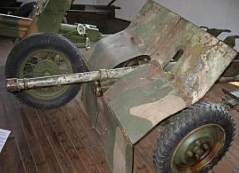 Противотанковая   пушка 20 PstK/40 Madsen