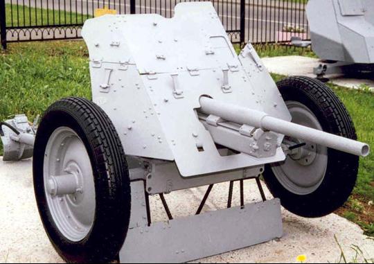 Противотанковая пушка 1-К образца 1930 г.