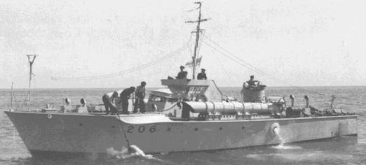 Торпедный катер «MTB-206»