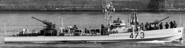 Торпедный катер «MS-31/473».