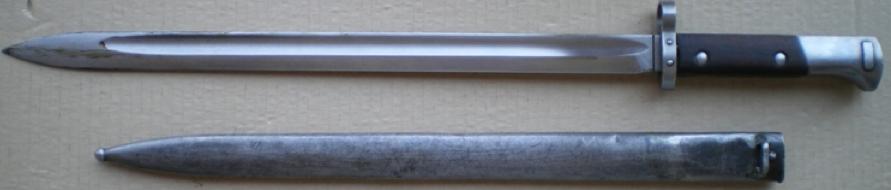 Штык-нож к карабину Mauser К-98