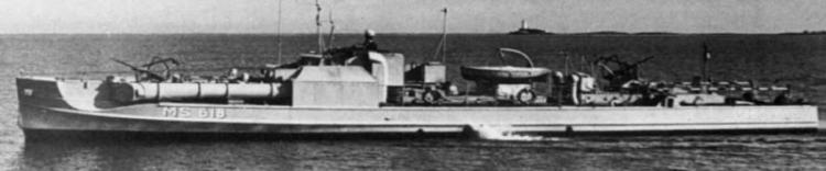 Торпедный катер «MS-73»