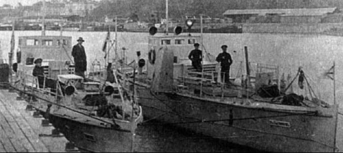 Сторожевые катера «Капитан-лейтенант Минков» и «Взрыв»