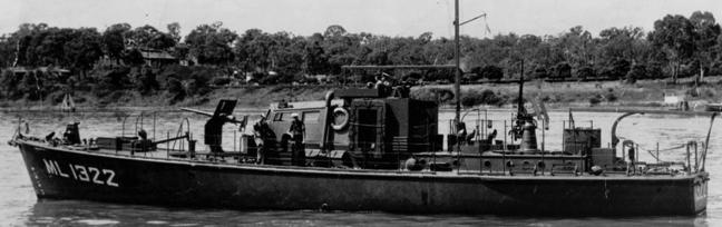 Сторожевой катер «HDML-1322»