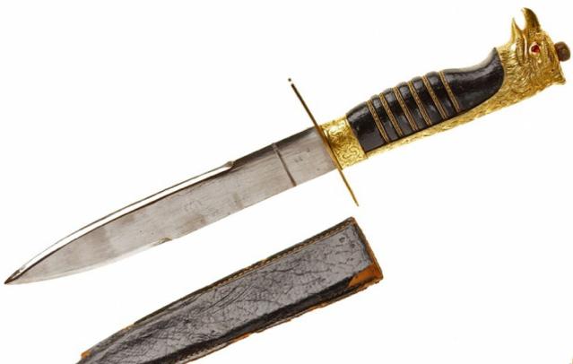 Нож чернорубашечников обр. 1925 г.