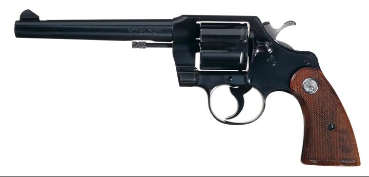 Револьвер Colt Official Police со стволом 153 мм