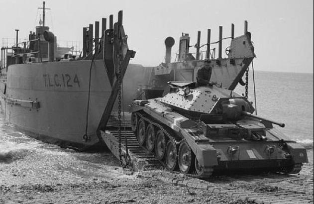 Танкодесантный корабль «LCT-124»