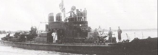 Речной монитор «Bechelaren» (President Masaryk)