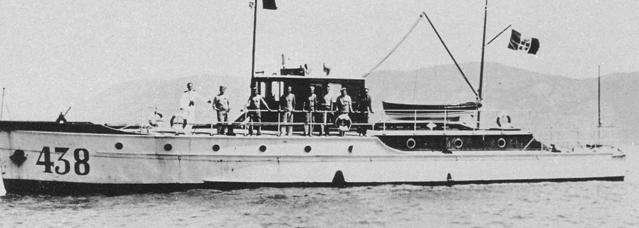 Противолодочный катер «MAS-438»