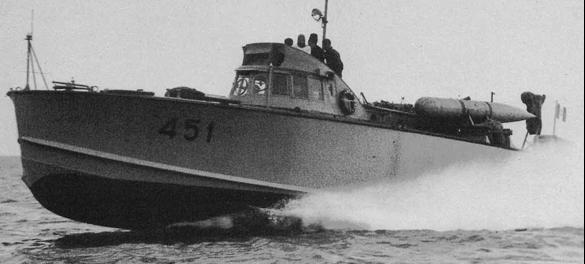 Противолодочный катер «MAS-451»