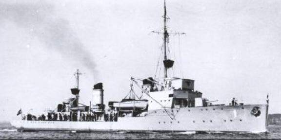 Эскортный корабль «F-1»
