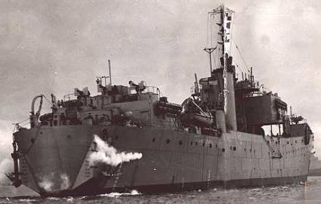 Танкодесантный корабль «Thruster»