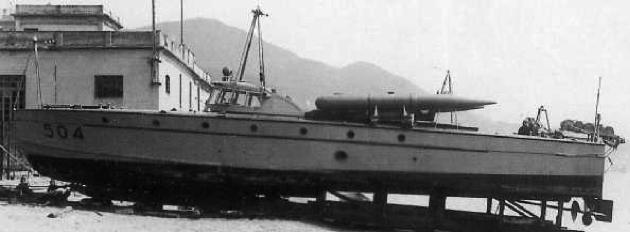 Противолодочный катер «MAS-504»