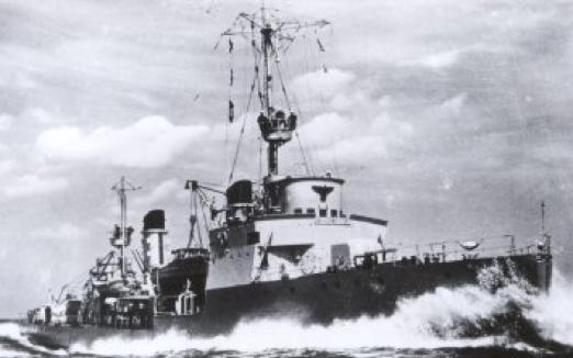 Эскортный корабль «F-6»
