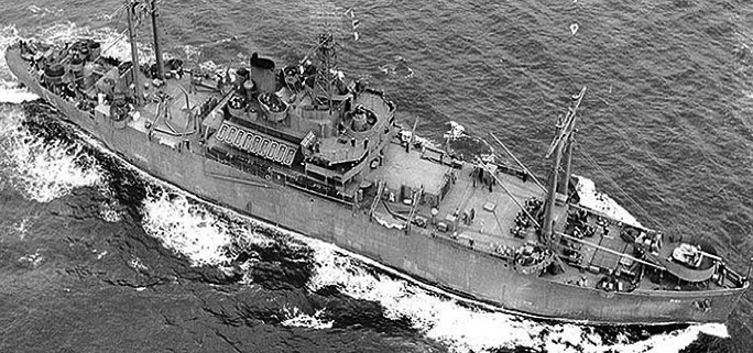 Командный десантный корабль «Appalachian» (AGC-1)