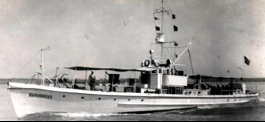 Сторожевые катера  «Беломорец» и «Черноморец»