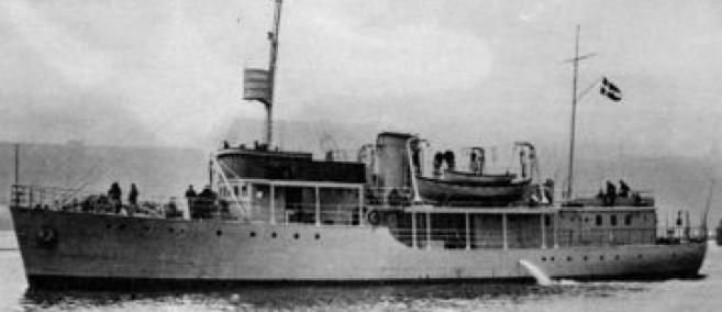 Патрульный корабль «Freja»