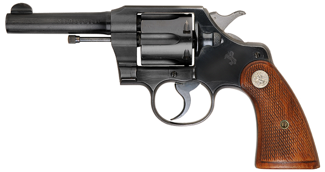 Револьвер Colt Official Police со стволом - 102 мм