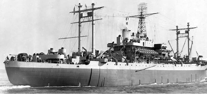 Командный десантный корабль «Rocky Mount» (AGC-3)