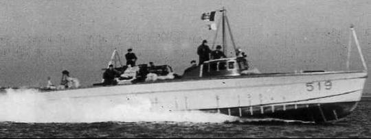 Противолодочный катер «MAS-519»