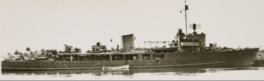 Эскортный корабль «SG-4» (Sans Peur)