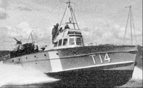 Противолодочный катер «MAS-524/Т-14»