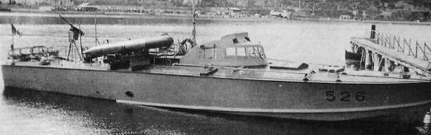Противолодочный катер «MAS-526»