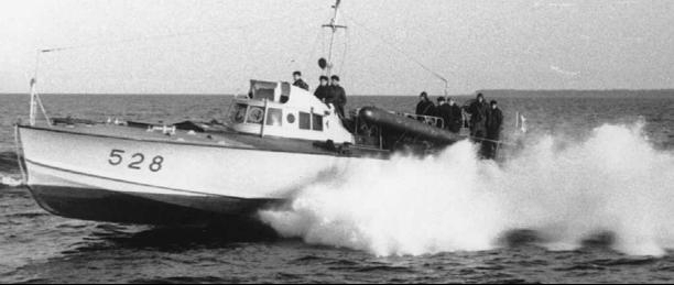 Противолодочный катер «MAS-528»
