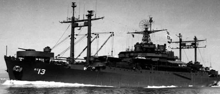 Командный десантный корабль «Panamint» (AGC-13)