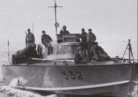 Противолодочный катер «MAS-532»