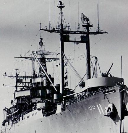 Командный десантный корабль «Eldorado» (AGC-11)