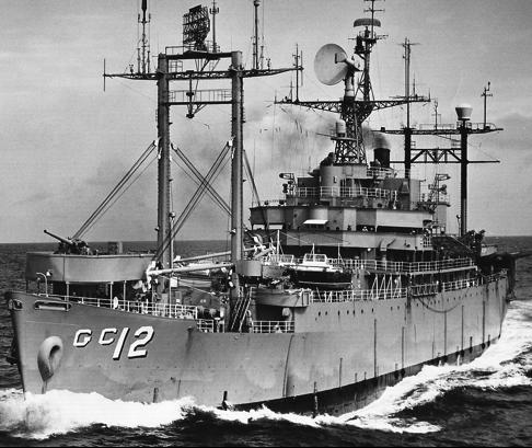 Командный десантный корабль «Estes» (AGC-12)