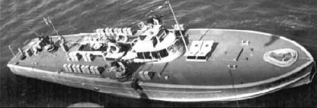 Противолодочный катер «MAS-540»