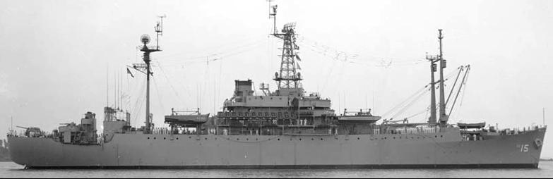 Командный десантный корабль «Adirondack» (AGC-15)