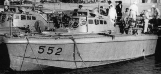 Противолодочный катер «MAS-552»