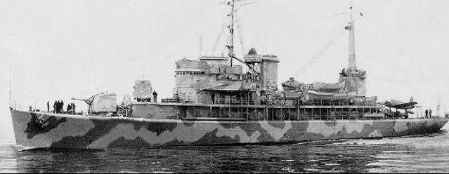 Командный десантный корабль Dexter (AGC18)