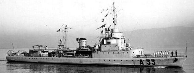 Ескортный корабль «SG-23» (La Batailleus)