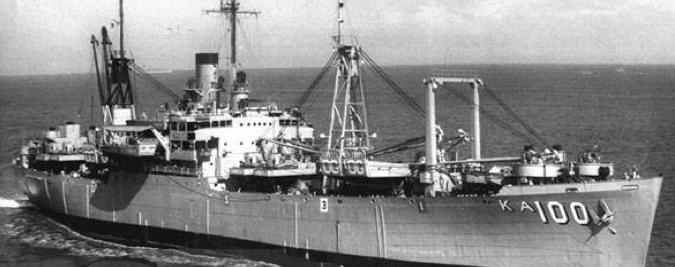 Десантный транспорт «Oglethorpe» (AKA-100)
