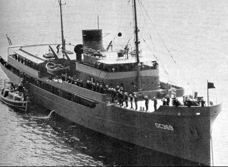 Командный десантный корабль «Williamsburg» (AGC-369)