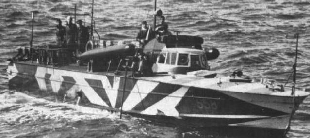 Противолодочный катер «MAS-558»