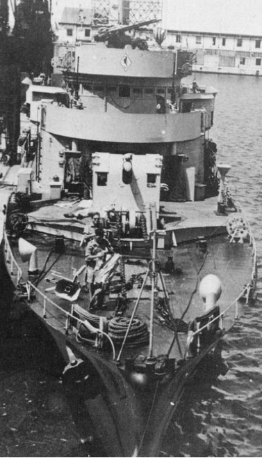 Патрульный корабль «SG-21» (Amiral Sénès)