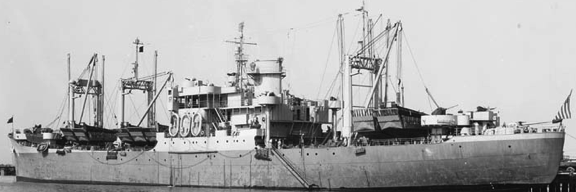 Десантный транспорт «Arcturus» (AKA-1)