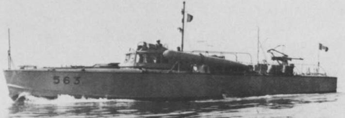 Противолодочный катер «MAS-563»